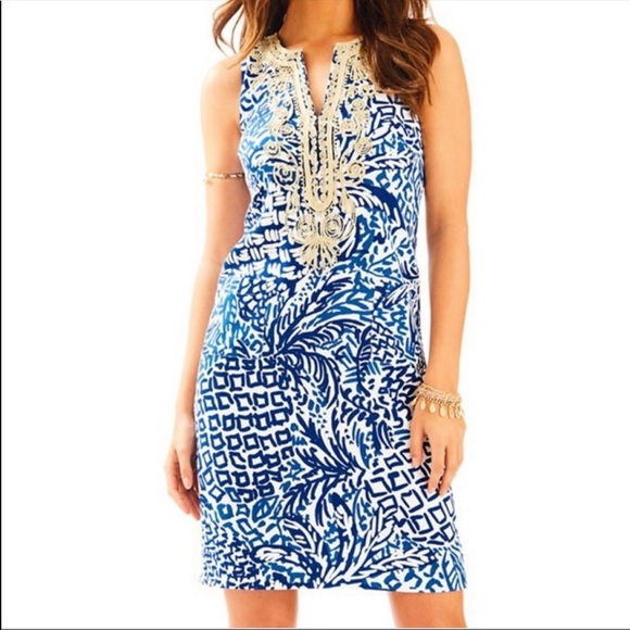 Lilly Pulitzer | Carlotta stretch shift dress
